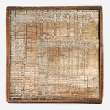 Cobblestone Wood Art, Square