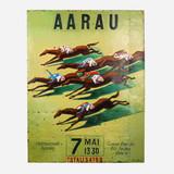 Art on Reclaimed Metal, Aarau Horse Race