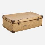 Vintage Suitcase, Tan