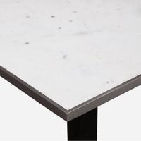 Deco Bistro Table, White Marble
