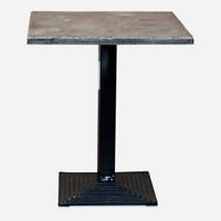 Deco Bistro Table, Blue Stone