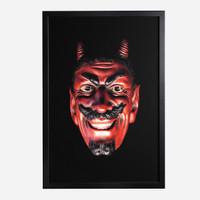 Framed Print, Devil 30x20