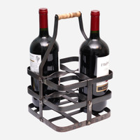 Metal Twist Wine Caddy