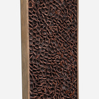 Leather Wall Art 100x20