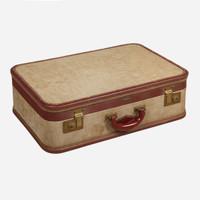 Vintage Suitcase, Linen