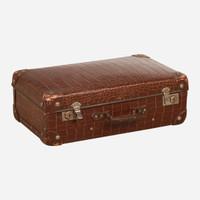 Vintage Suitcase, Alligator