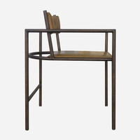Alex Dining Chair, Square