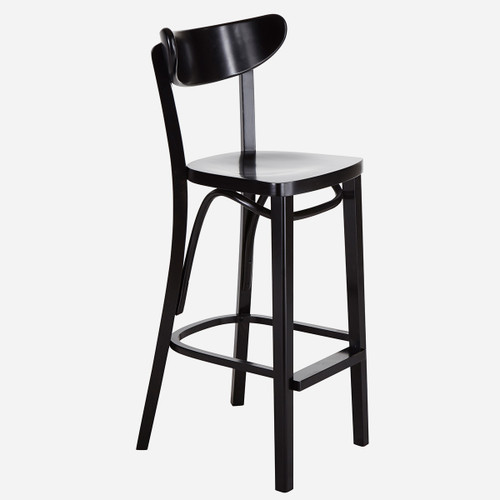 Lit Bar Stool, Black (WHS Open Box Stock)