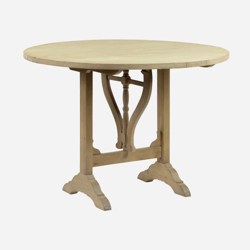 Wine Tasting Table, Wood (WHS Open Box Stock)