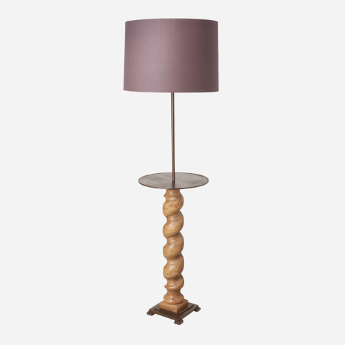 Gavin Floor Lamp BASE ONLY (pairs w/shade E) (WHS Open Box Stock)