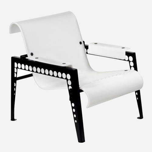 Mr. Bubbles Armchair, White Acrylic (WHS Open Box Stock)
