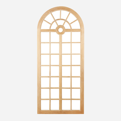 """Wooden Cathedral Mirror 96"""" (WHS Open Box Stock)"""