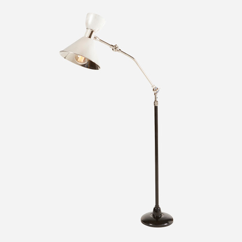Sawyer Adjustable Reading Floor Lamp  (WHS Open Box Stock)