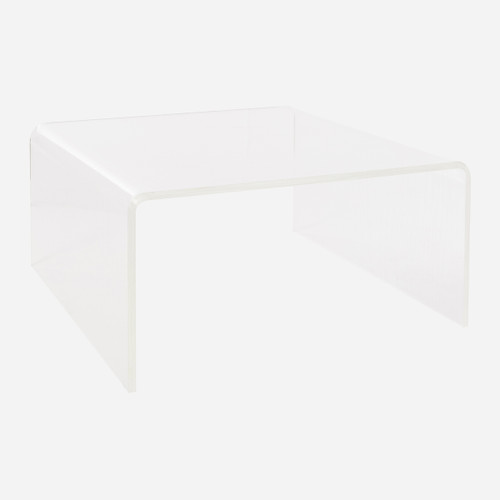 Faux Bois Waterfall Coffee Table  (WHS Open Box Stock)