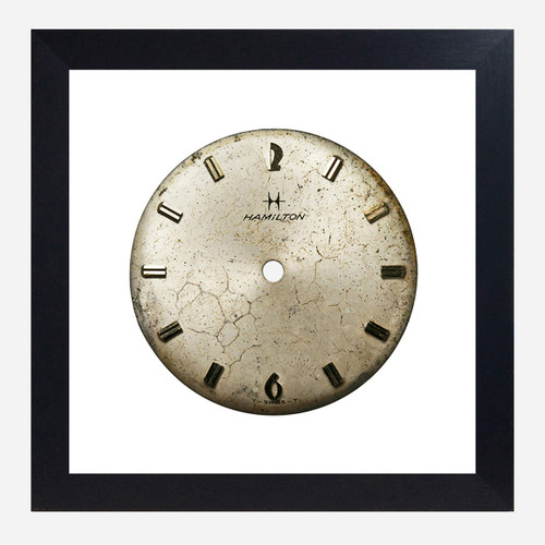 Framed Watch Face Print, Hamilton 10x10 (WHS Open Box Stock)