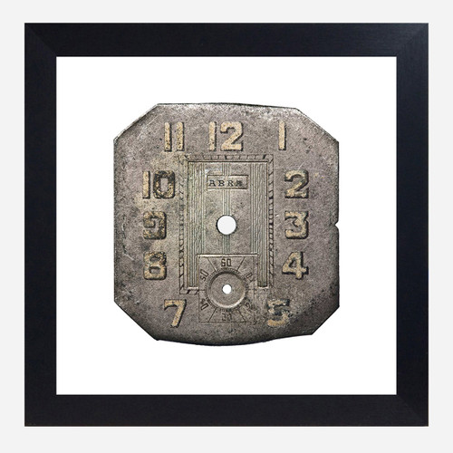 Framed Watch Face Print, Abra 10x10 (WHS Open Box Stock)