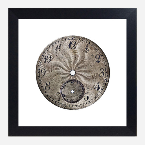 Framed Watch Face Print, Serpentine 10x10 (WHS Open Box Stock)