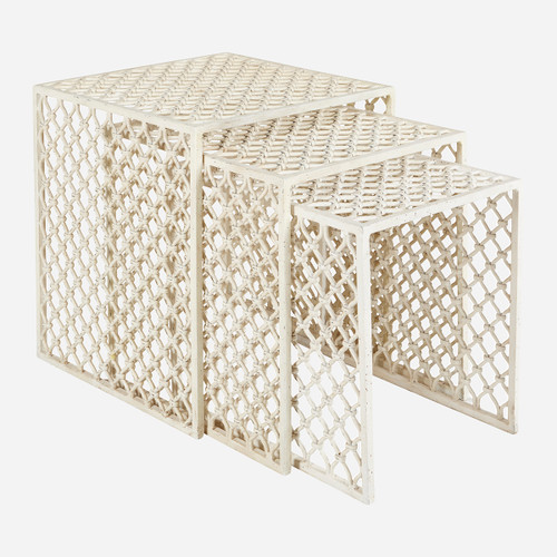 Jali Nesting Tables (s/3) (WHS Open Box Stock)