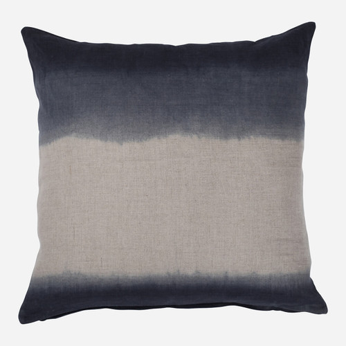 Ombre Pillow, Charcoal