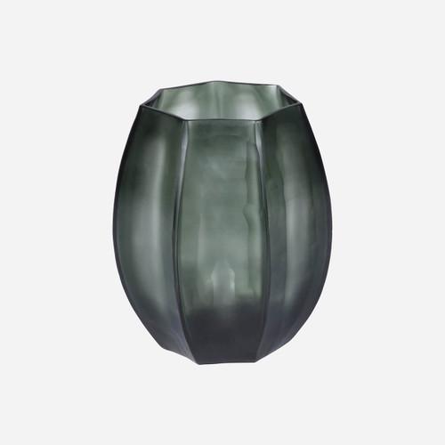 Loire Small Vase, Light Steel