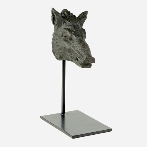 Boar Head with Stand, Large