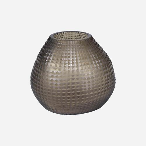 Somme Round Vase, Jack Fruit Smoke