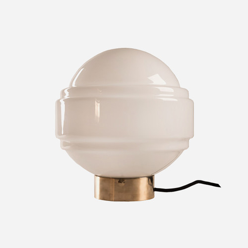 Glass Table Lamp Saturn
