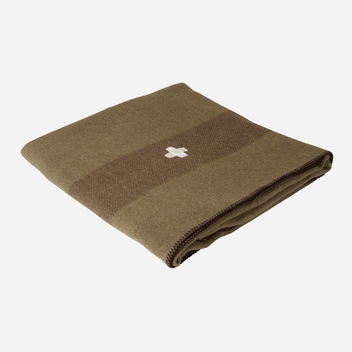 Swiss Army Wool Blanket (Green)