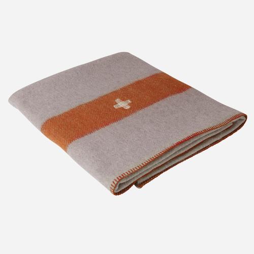 Swiss Army Wool Blanket (Grey)