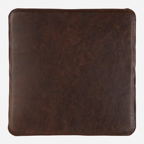 Magnetic Leather Chair Pad, Coffee
