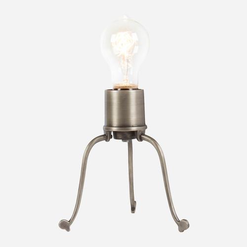 Spider Desk Lamp, Matte Aged Steel