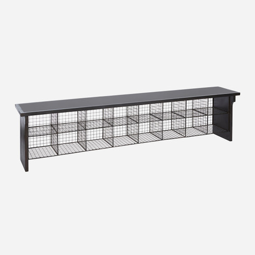 School Bench Rubber Top 6ft
