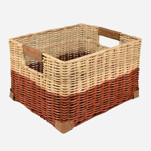 Record Basket, Red