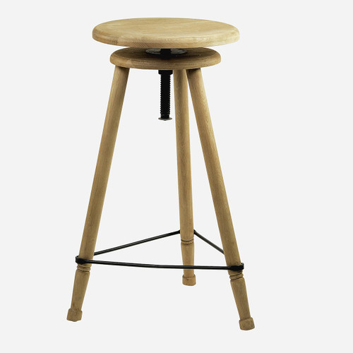 Adjustable Tripod Stool, Tall