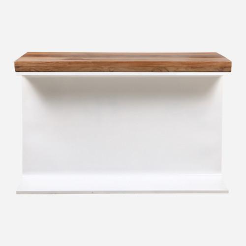 Beam Console, White
