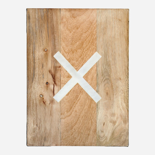 Cutting Board, X