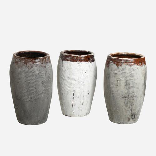 Antique Rice Wine Jar, Lg