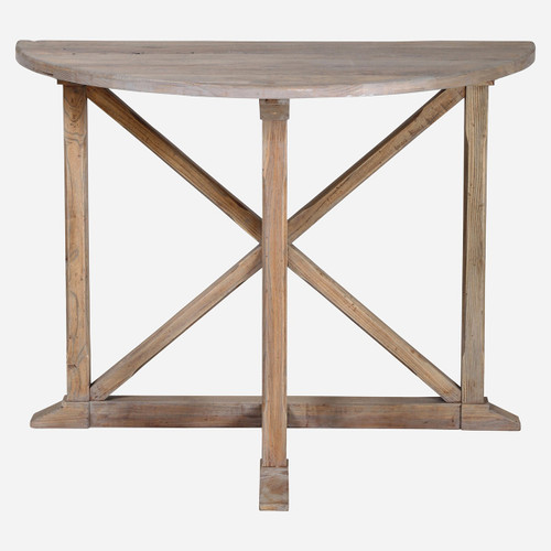 Lourdes Demilune Table