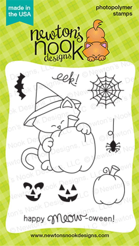 Newton's Perfect Pumpkin Stamp Set ©2014 Newton's Nook Designs
