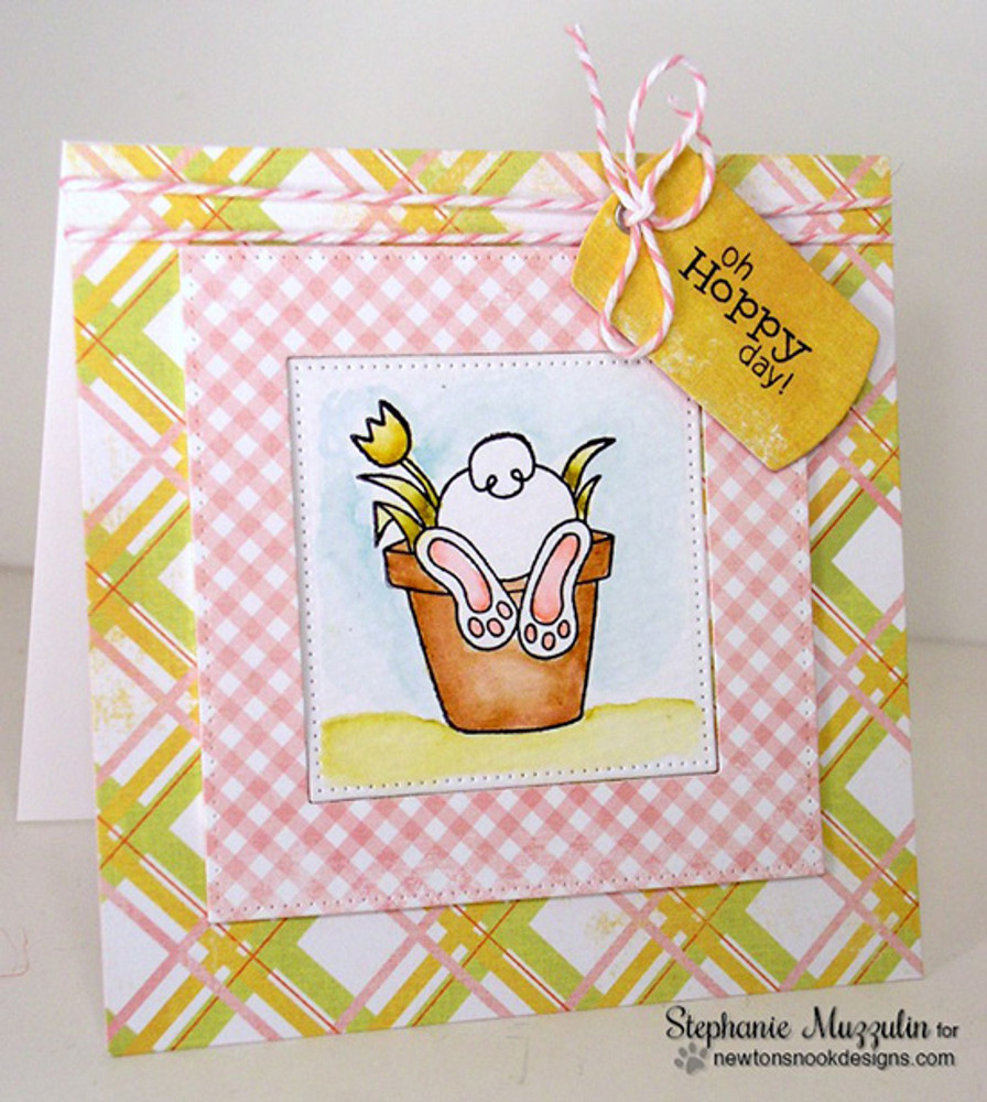 "Bunny ""Hoppy"" Day Card 
