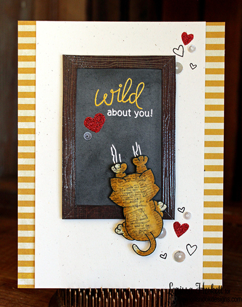 Naughty Newton | 4x6 photopolymer Stamp Set | ©2015 Newton's Nook Designs