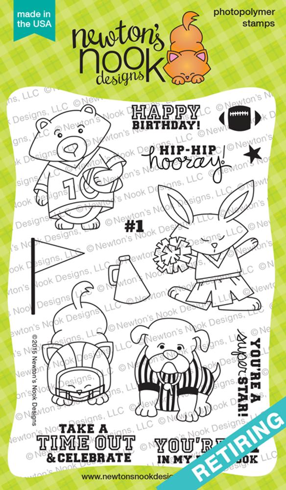 Touchdown Tails Stamp Set ©2015 Newton's Nook Designs