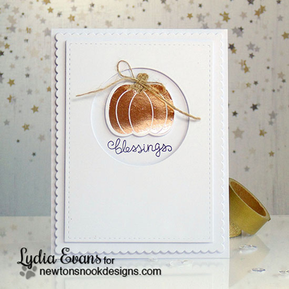 Pick-a-Pumpkin Stamp Set ©2015 Newton's Nook Designs
