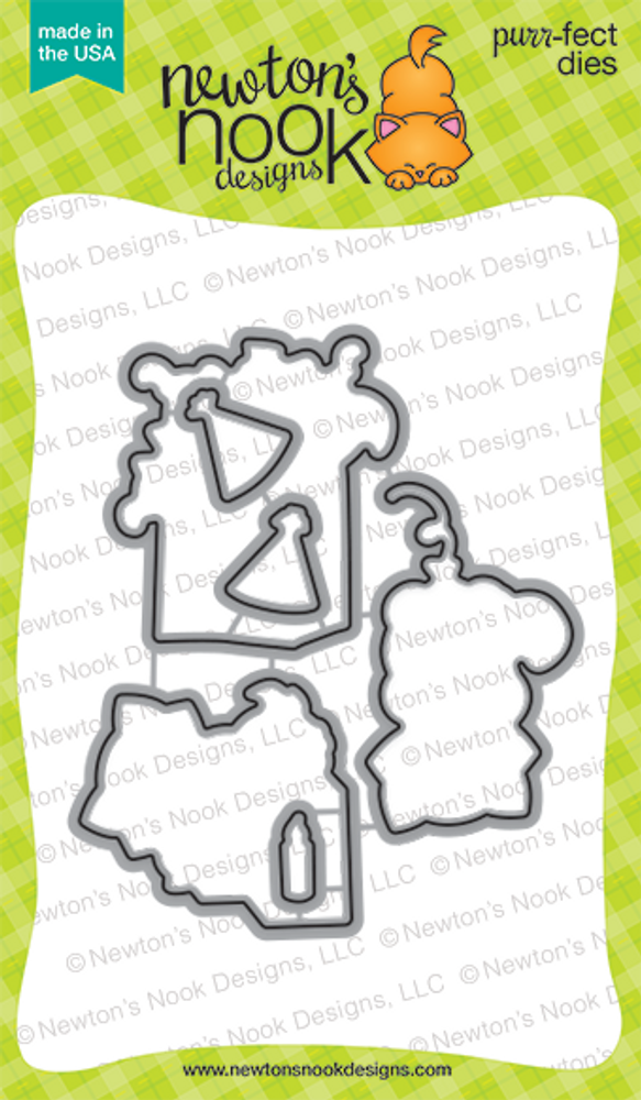 Newton's Birthday Bash | Die Set | ©2015 Newton's Nook Designs