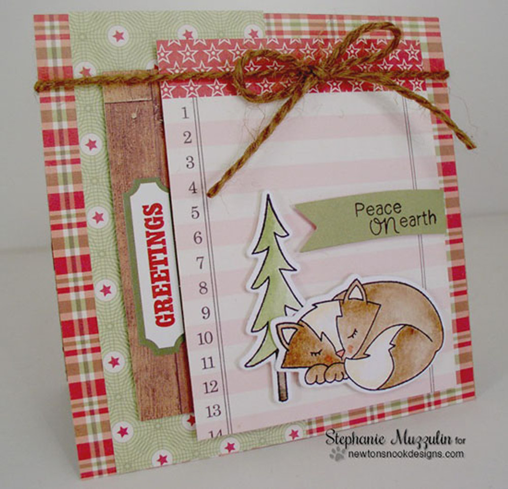 Fox Hollow   4x6 Photopolymer Stamp Set   ©2015 Newton's Nook Designs