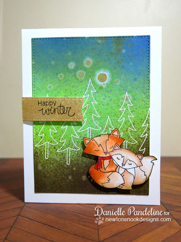 Fox Hollow | 4x6 Photopolymer Stamp Set | ©2015 Newton's Nook Designs