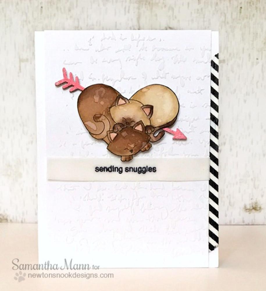 Darling Duos   4x6 Photopolymer Stamp Set   ©2016 Newton's Nook Designs