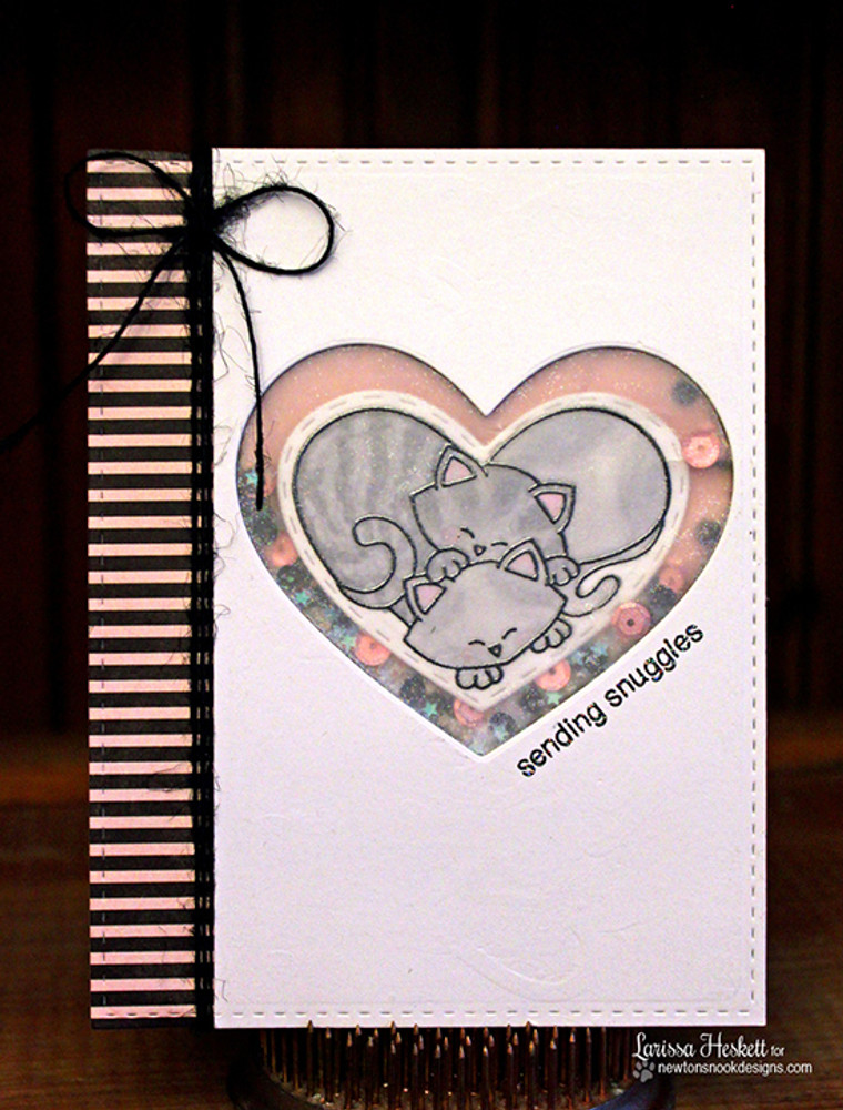 Darling Duos | 4x6 Photopolymer Stamp Set |©2016  Newton's Nook Designs