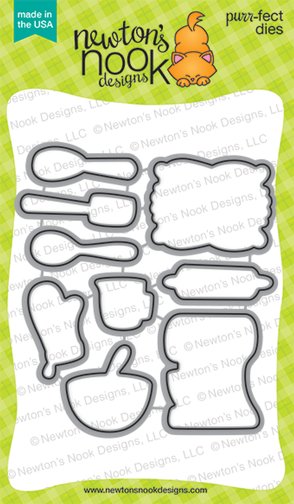 Made from Scratch | Die Set | ©2016 Newton's Nook Designs