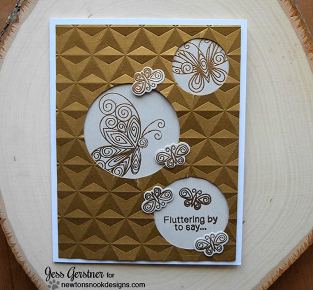 Beautiful Wings Stamp Set ©2016 Newton's Nook Designs
